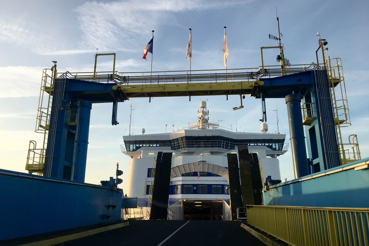 , Getting to France by ferry