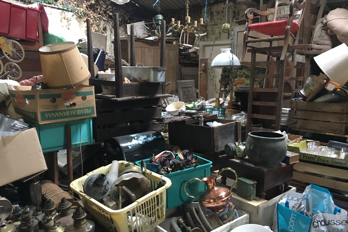 , Hunting for antiques in France…